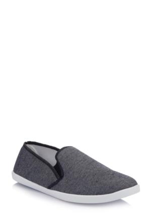 DeFacto Erkek Basic Enjeksiyon Ayakkabı Antrasit