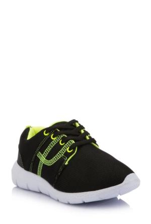 DeFacto Erkek Çocuk Spor Ayakkabı Siyah