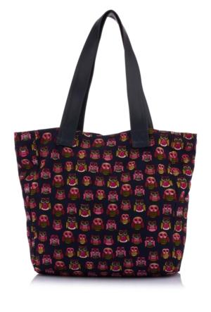 DeFacto Kadın Desenli Çanta Siyah