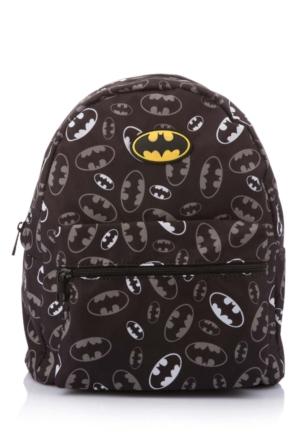 DeFacto Erkek Çocuk Batman Baskılı Çanta Siyah
