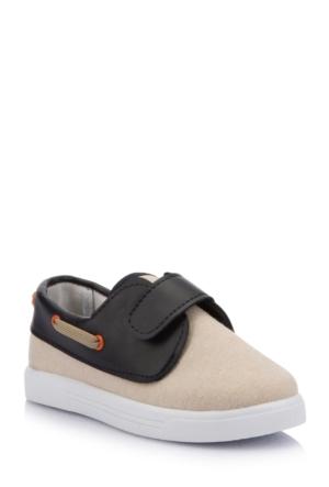DeFacto Erkek Çocuk Bağcıksız Ayakkabı Kum