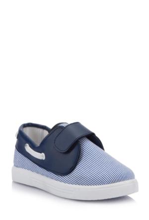 DeFacto Erkek Çocuk Bağcıksız Ayakkabı Lacivert