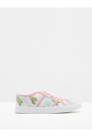 Koton Kadın Bağcıklı Ayakkabı Pembe