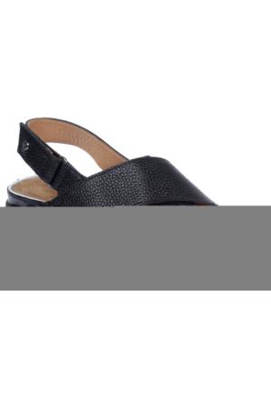 Greyder Gry 51291 Siyah Hakiki Deri Kadın Spor Ayakkabı