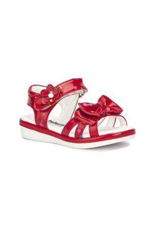 Polaris 71.509079.B Kırmızı Kız Çocuk Sandalet