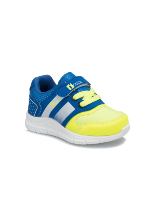 I Cool Enough Neon Sarı Saks Erkek Çocuk Sneaker Ayakkabı