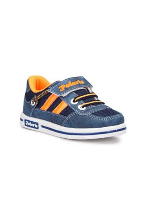 Polaris 71.509318.B Mavi Erkek Çocuk Sneaker Ayakkabı