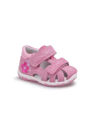 Superfit 00037-67 Pembe Kız Çocuk Deri Sandalet