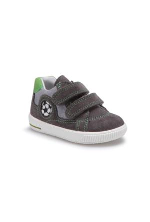 Superfit 00045-06 Be Gri Erkek Çocuk Deri Ayakkabı
