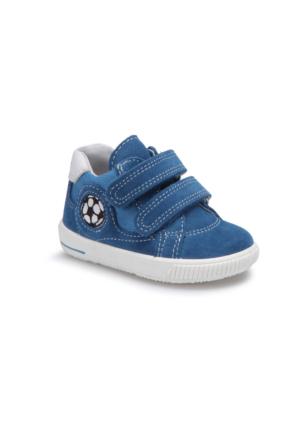 Superfit 00045-94 Be Mavi Erkek Çocuk Deri Ayakkabı