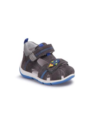 Superfit 00144-07 Be Gri Erkek Çocuk Deri Sandalet