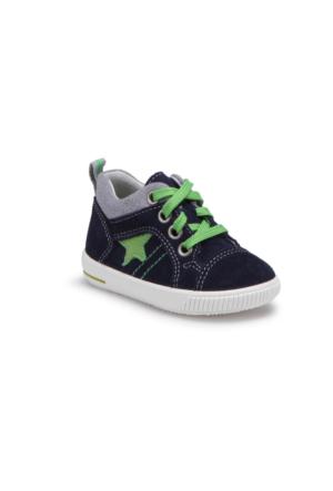Superfit 00353-81 Be Lacivert Erkek Çocuk Deri Ayakkabı