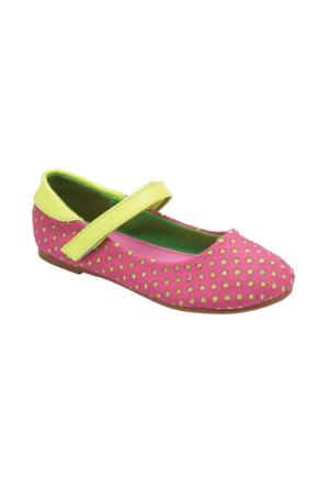Pink Step Pesa Fuşya Kız Çocuk Babet