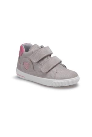 Superfit 00043-17 Pk Gümüş Kız Çocuk Deri Ayakkabı