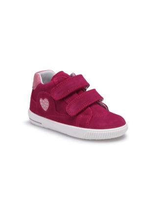 Superfit 00043-37 Pk Bordo Kız Çocuk Deri Ayakkabı