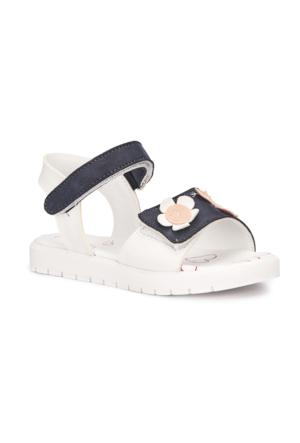 Polaris 71.509111.P Lacivert Kız Çocuk Sandalet