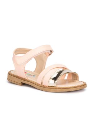 Polaris 71.509025.P Pudra Kız Çocuk Basic Sandalet