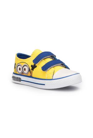 Minions Zetsu Sarı Erkek Çocuk Sneaker Ayakkabı