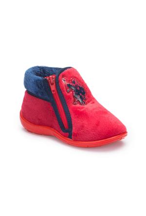 U.S. Polo Assn. A3378309 Kırmızı Erkek Çocuk Panduf
