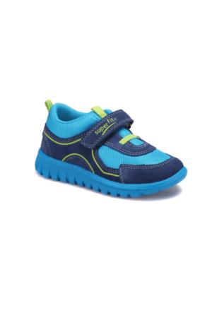 Superfit 00191-86 Pe Lacivert Erkek Çocuk Deri Ayakkabı