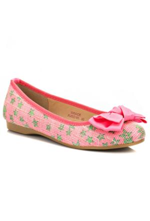 Pink Step Grace Fuşya Kız Çocuk Babet