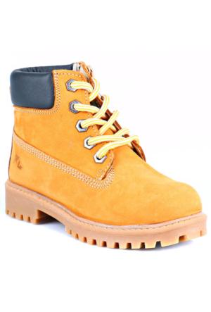 Lumberjack 388004D01 Filet 48 Yellow Sarı Erkek Çocuk Deri Bot