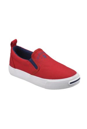 U.S. Polo Assn. A3351462 Kırmızı Unisex Çocuk Sneaker Ayakkabı
