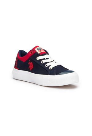 U.S. Polo Assn. Domingo Lacivert Erkek Çocuk Sneaker Ayakkabı