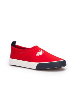 U.S. Polo Assn. Natal Kırmızı Unisex Çocuk Sneaker Ayakkabı