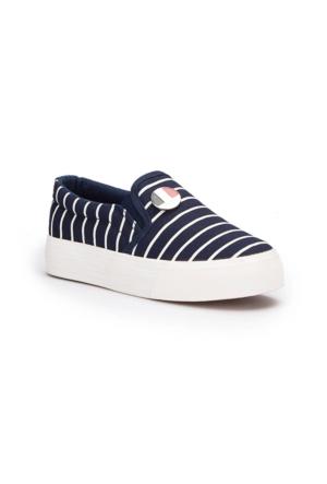 U.S. Polo Assn. Mocking Lacivert Kız Çocuk Sneaker Ayakkabı