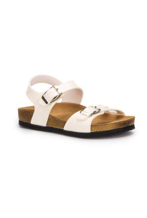 Pink Step Yummy-1 Beyaz Kız Çocuk Sandalet