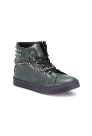Seventeen Fp640 Yeşil Kız Çocuk Sneaker Ayakkabı