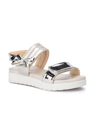 Polaris 71.509264.F Gümüş Kız Çocuk Sandalet