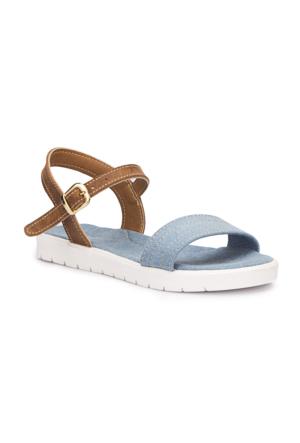 Polaris 71.509141.F Mavi Kız Çocuk Basic Sandalet