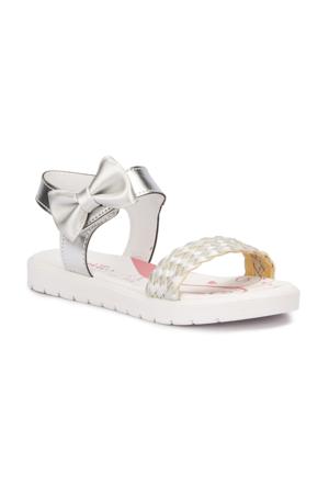 Polaris 71.509110.F Gümüş Kız Çocuk Basic Sandalet