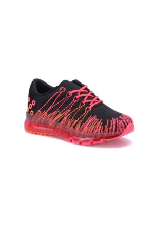 Torex Sosa Siyah Pembe Kız Çocuk Sneaker Ayakkabı