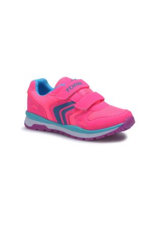Torex Nany Neon Pembe Turkuaz Kız Çocuk Sneaker Ayakkabı