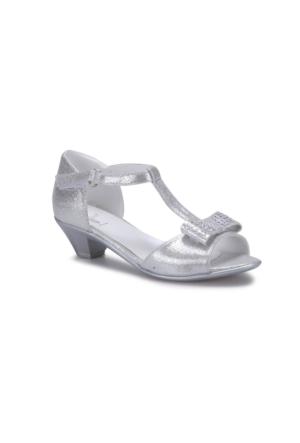 Seventeen Brilant-1 Gümüş Kız Çocuk Ayakkabı