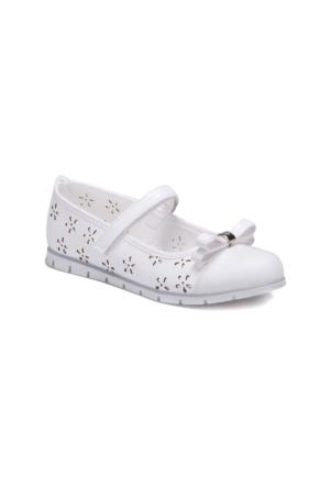 Polaris 71.509313.G Beyaz Kız Çocuk Basic Sandalet