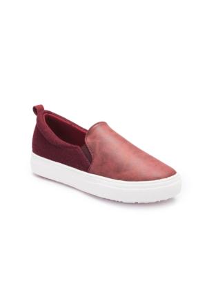 Lumberjack A3372238 Kırmızı Kadın Sneaker Ayakkabı