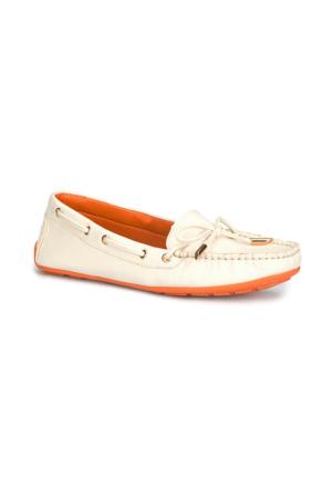 Polaris 71.155556.Z Bej Kadın Loafer Ayakkabı