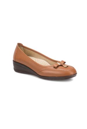 Polaris 71.157293.Z Taba Kadın Dolgu Topuk Ayakkabı