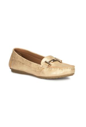 Polaris 71.157205.Z Altin Kadın Loafer Ayakkabı