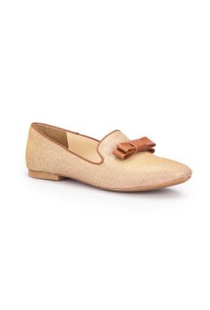 Polaris 71.309710.Z Taba Kadın Loafer Ayakkabı