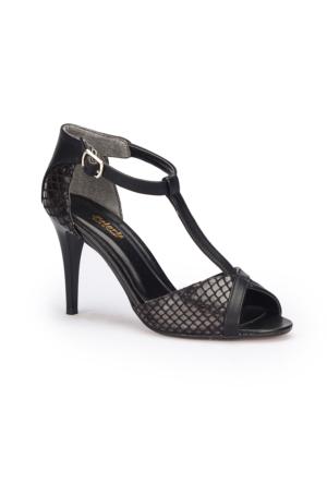 Polaris 71.309835.Z Siyah Kadın Ayakkabı