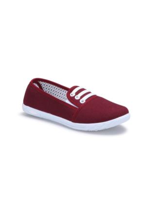 Polaris 71.354987.Z Bordo Kadın Ayakkabı