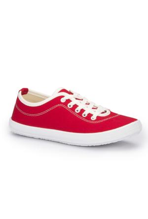 Polaris 71.353085.Z Kırmızı Kadın Sneaker Ayakkabı