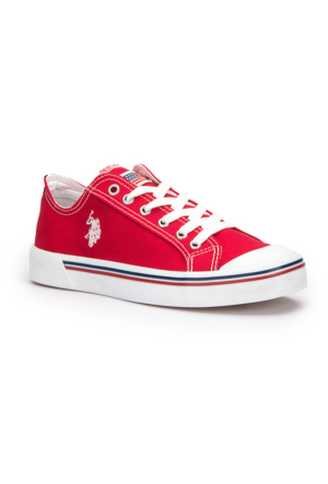 U.S. Polo Assn. Penelope Kırmızı Kadın Sneaker Ayakkabı