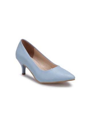 Polaris 71.307282Fz Açık Mavi Kadın Gova Ayakkabı