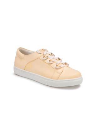 Art Bella U1951 Sarı Kadın Sneaker Ayakkabı
